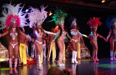 207 Brazilian Folklorica show on Prinsendam