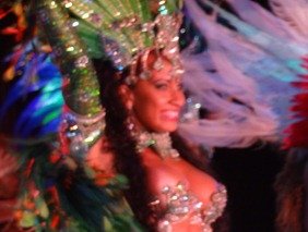 217 Brazilian Folklorica show on Prinsendam