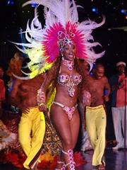 219 Brazilian Folklorica show on Prinsendam