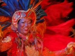 226 Brazilian Folklorica show on Prinsendam