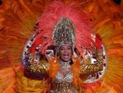 229 Brazilian Folklorica show on Prinsendam