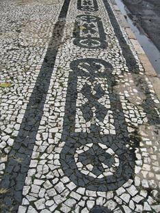 22 Mosaic sidewalk