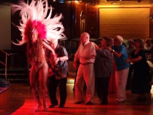 233 Brazilian Folklorica show on Prinsendam