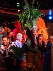 236 Brazilian Folklorica show on Prinsendam