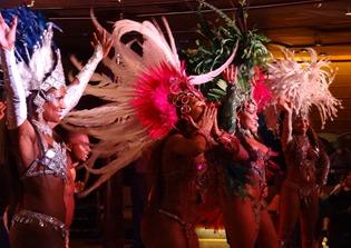 239 Brazilian Folklorica show on Prinsendam