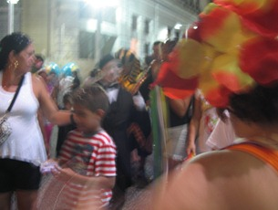 23 Street crowd in Recife