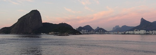 24 Sailing into Rio at sunrise -