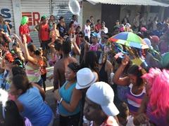 24 street parade near Isla Itamaraca