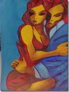 24 Tango painting in La Boca