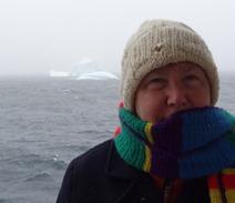 25 Mary with iceberg