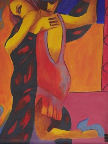 25 Tango painting in La Boca