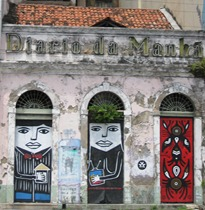 27 Bldg in Recife with painted panels
