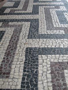 28 mosaic sidewalk