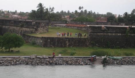 29 Fortaleza (fortress) Santa Catarina in Cabadela