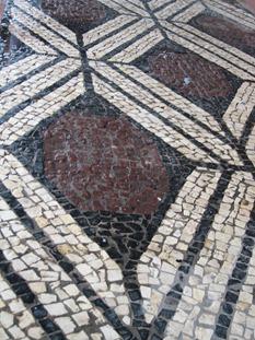 29 mosaic sidewalk