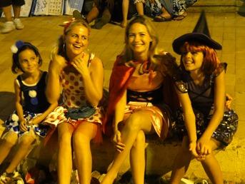 35 4 girls in costume