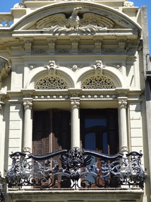 37 ornate balcony