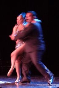 38 Argentine tango dancers on Prinsendam