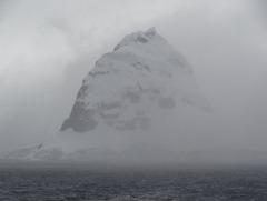 38 Wiencke Island mountain in clouds