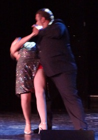 39 Argentine tango dancers on Prinsendam