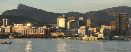 42 Sailing into Rio at sunrise -