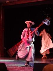 45 Argentine gaucho dancers on Prinsendam