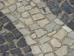 45 Mosaic sidewalk detail