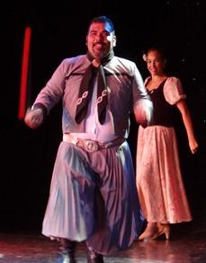 49 Argentine bolero dancer on Prinsendam