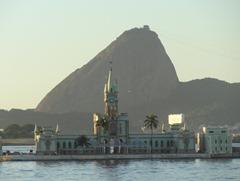49 Sailing into Rio at sunrise - old customs house