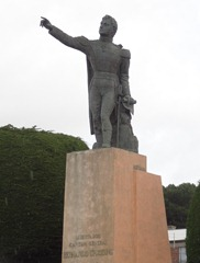 50 Bernardo O'Higgins monument in Punta Arenas