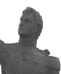 51 Bernardo O'Higgins statute in Punta Arenas
