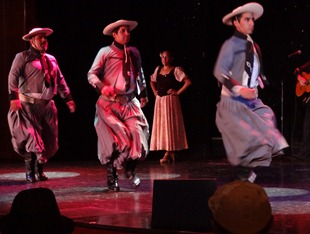 52 Argentine gaucho dancers on Prinsendam