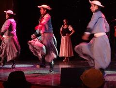 53 Argentine gaucho dancers on Prinsendam