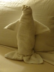 62 towel penguin