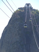 86 Sugarloaf cable car
