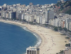 90 Copacabana beach from Sugarloaf