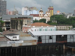 02 Manaus from ship, with cathedral