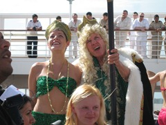 05 King Neptune ceremony for crossing equator