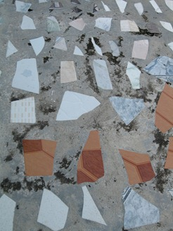 10 Mosaic sidewalk