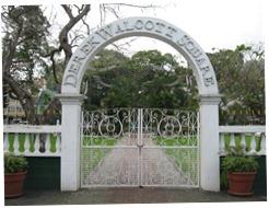 12 gate to Derek Walcott Square