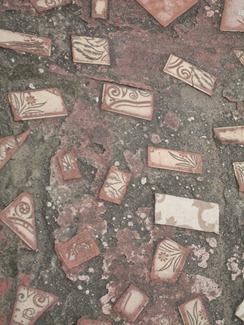 16 Mosaic sidewalk