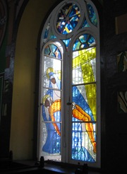 31 stained glass window