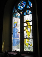 35 Stained glass window