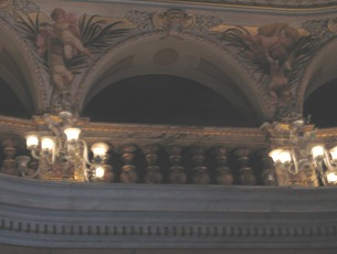 36 Ceiling of salon in Teatro