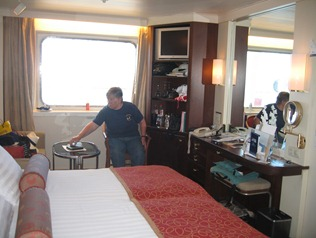 40 Mary in our stateroom