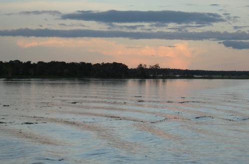 53  Sunset on the Amazon