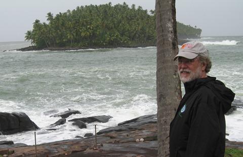 55 Rick & Devil's Island (Ile du Diable) from Ile Royale