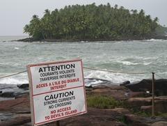 56 Devil's Island (Ile du Diable) from Ile Royale