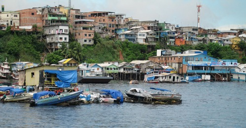 65 River boats at Manaus
