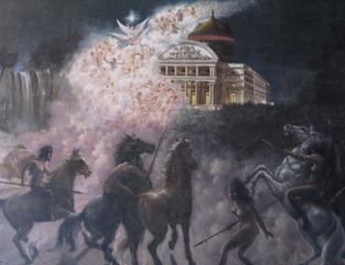 71 Immortality - painting in Palacio Rio Negro
